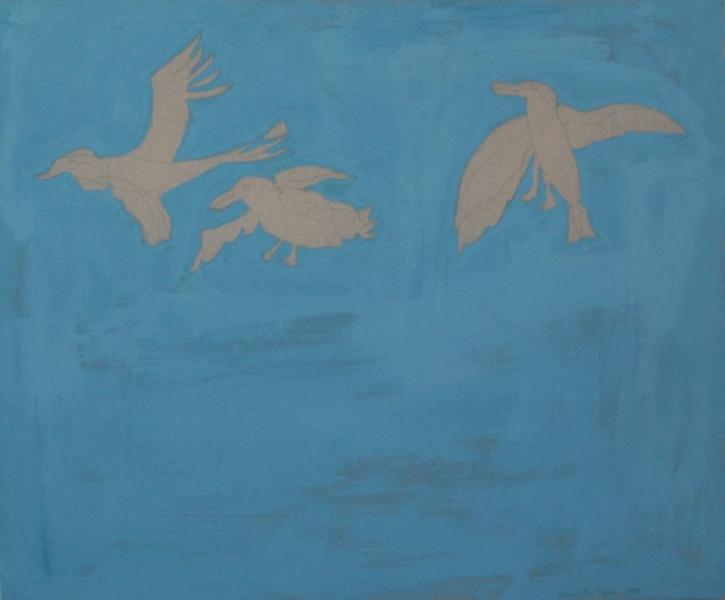 1ruggero-cazzanello-uccelli2003-acrilico-e-mat-su-tela-cm117x140_962x796